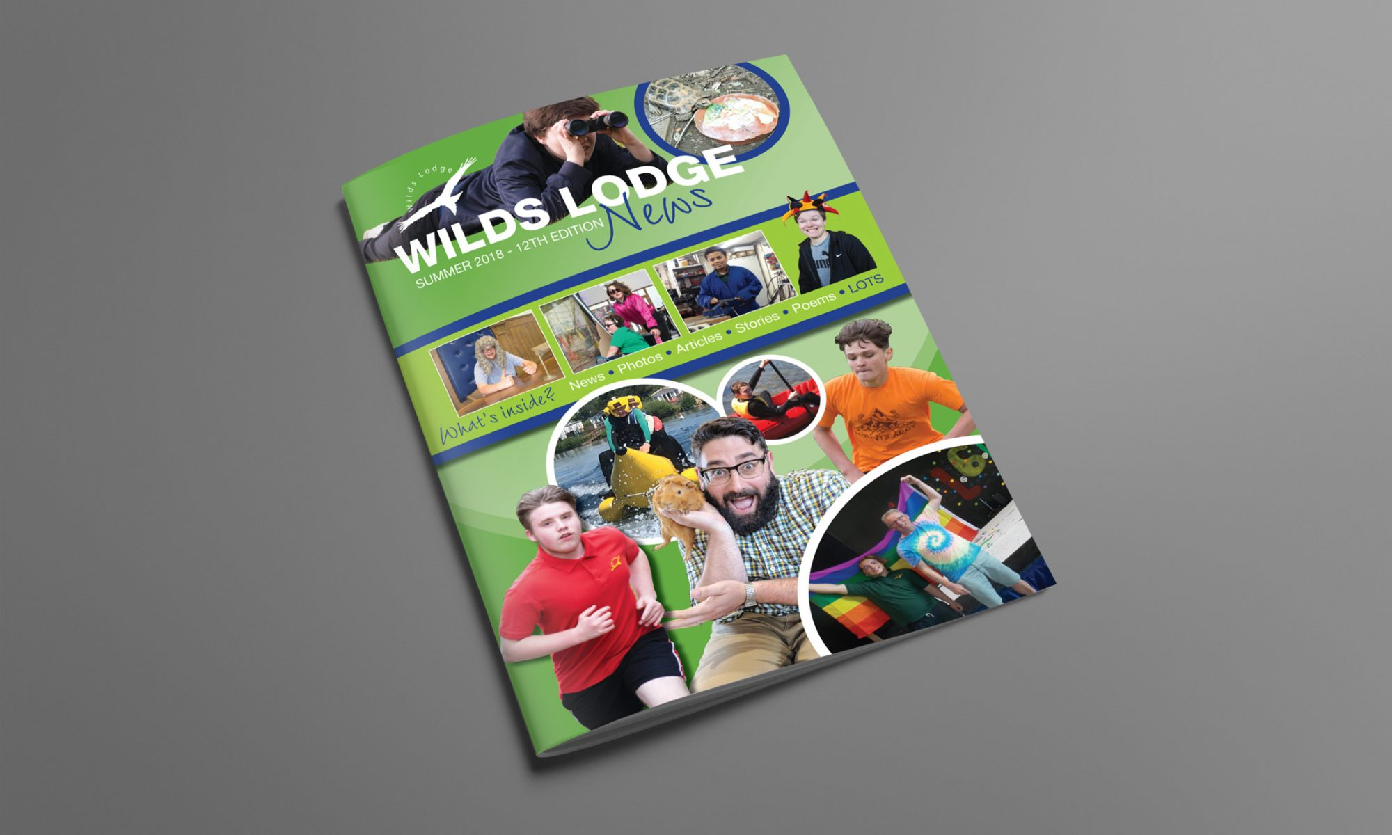 Wilds Lodge School Magazine Cover